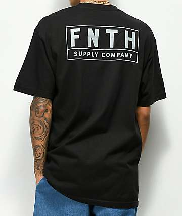 Forty Ninth Supply Co. Crossover Black T-Shirt