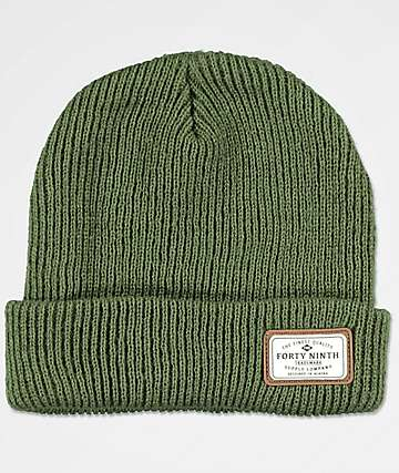 Forty Ninth Supply Co. Huntsman gorro verde