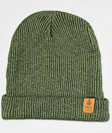 Forty Ninth Supply Co. Mills Green Beanie