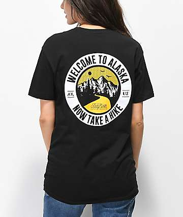 Forty Ninth Supply Co. Take A Hike Black T-Shirt