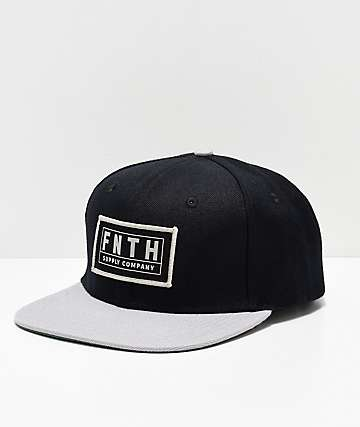 Forty Ninth Supply Co. The Bishop Black Snapback Hat
