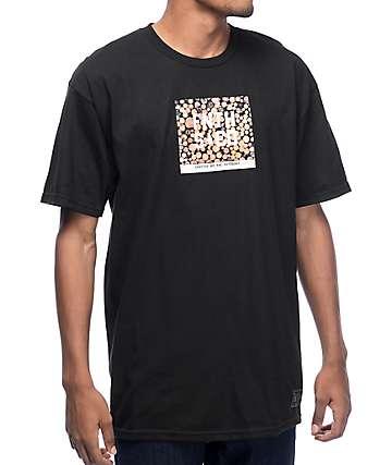 Forty Ninth Supply Co. Warm Yourself Twice camiseta negra