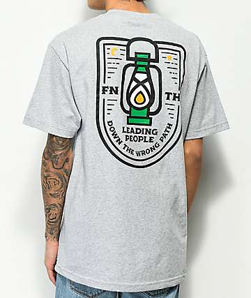 Forty Ninth Supply Co. Wrong Path Grey T-Shirt
