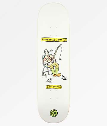 "Foundation Campbell Senior Citizen 8.25"" Skateboard Deck"