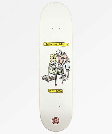 "Foundation Duffel Senior Citizen 8.0"" Skateboard Deck"