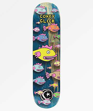 "Foundation Glick Fish 8.38"" Skateboard Deck"