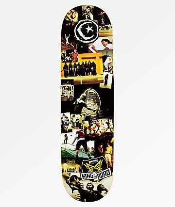 "Foundation King Of The Road 8.5"" Skateboard Deck"