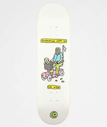 "Foundation Wilson Senior Citizen 8.5"" Skateboard Deck"