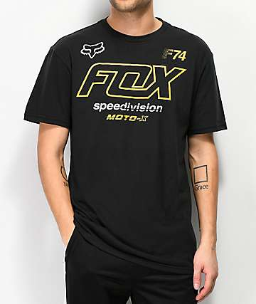 Fox Assessing Black T-Shirt