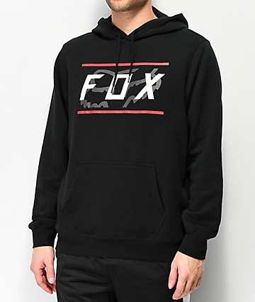 Fox Determined sudadera con capucha negra