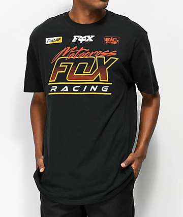 Fox Jet Ski Black T-Shirt