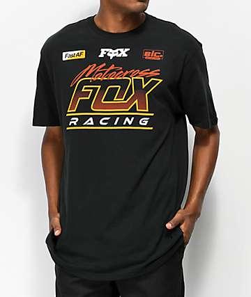 Fox Jet Ski camiseta negra