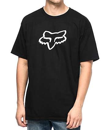 Fox Legacy Head Black T-Shirt