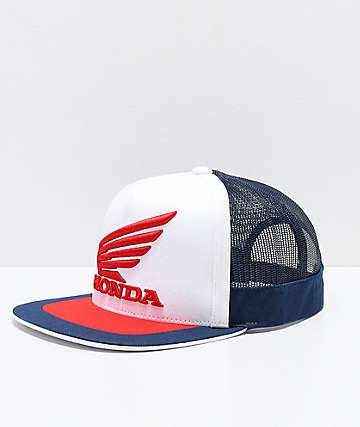 Fox x Honda White, Red & Navy Trucker Hat