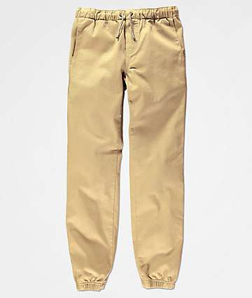 Free World Boys Remy Khaki Jogger Pants