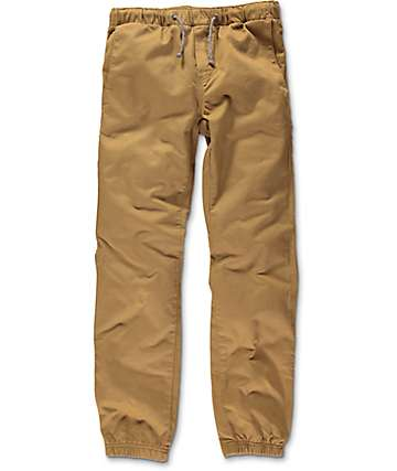 Free World Boys Remy Tobacco Jogger Pants