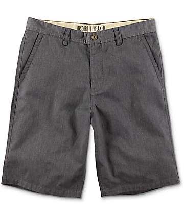 Free World Discord Heather Grey Chino Shorts