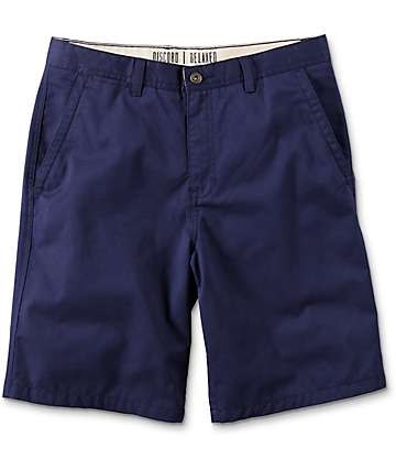 Free World Discord shorts chinos en azul marino