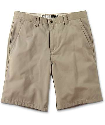 Free World Discord shorts chinos en color caqui