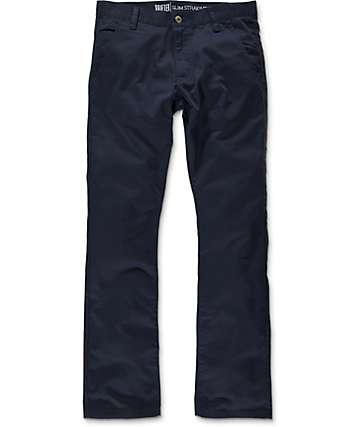 Free World Drifter pantalones chinos en azul marino
