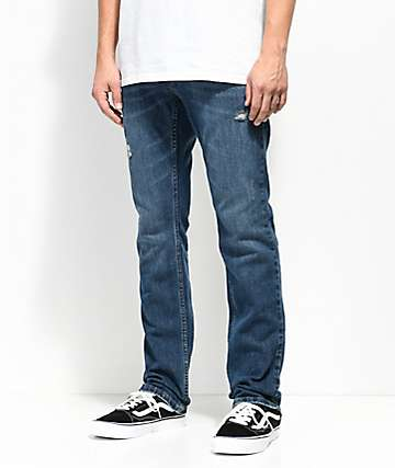 Free World Messenger Stretch Calypso Skinny Jeans