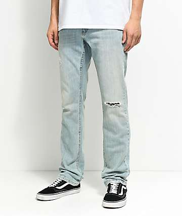 Free World Messenger Westport Distressed Skinny Stretch Jeans (Past Season)