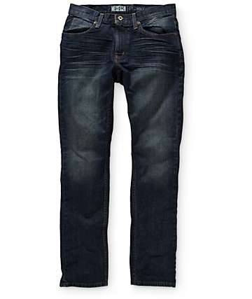 Free World Messenger jeans corte ceñido
