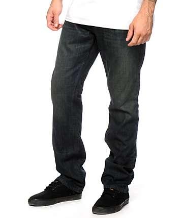 Free World Night Train Dirty jeans ajuste regular lavado sucio