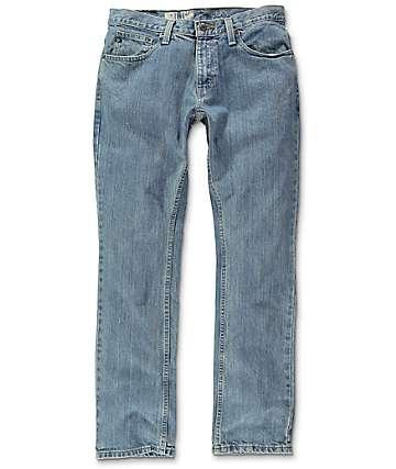 Free World Night Train Jerry Light Blue Regular Fit Jeans