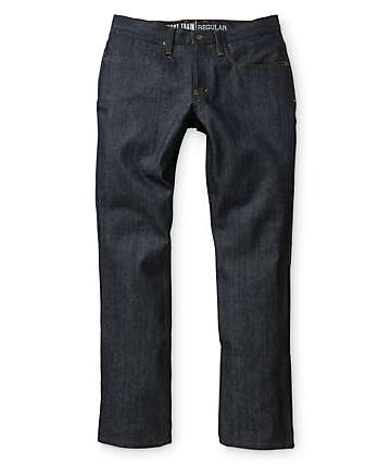 Free World Night Train Vancouver Blue Regular Fit Jeans
