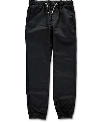 Free World Remy Boys Black Jogger Pants