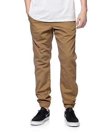 Free World Remy Dark Khaki Jogger Pants