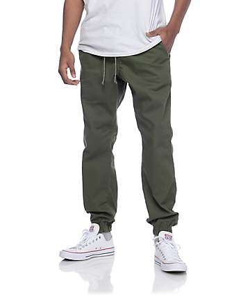 a9d6fb3de1a8 Free World Remy Olive Jogger Pants