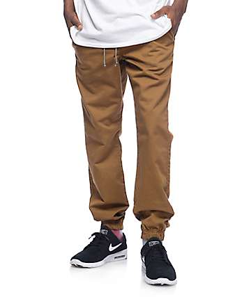 Free World Remy Tobacco Jogger Pants