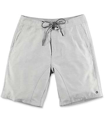 Free World Surfrider shorts híbridos en gris