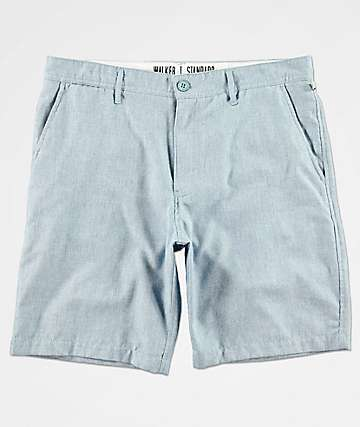 Free World Walker Heather Blue Chino Shorts
