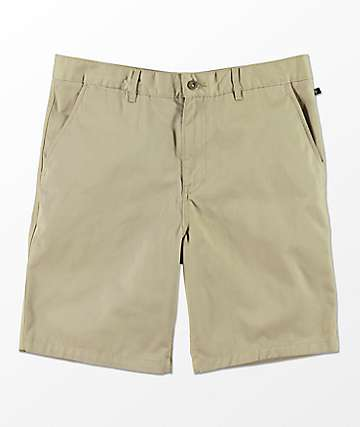 Free World Walker Khaki Chino Shorts
