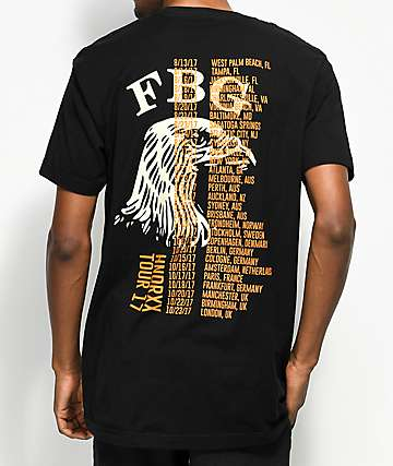 Freebandz HNDRXX Tour Black T-Shirt