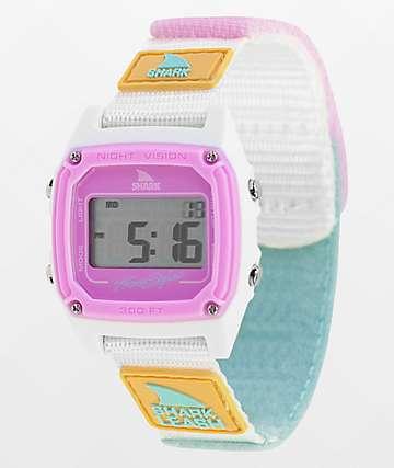 Freestyle Shark Classic Leash Blue Tie Dye Digital Watch