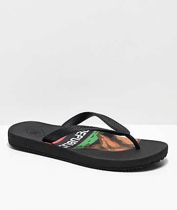 Freewaters Archie Print California Dream Sandals