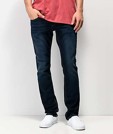 Freeworld Messenger League Dark Blue Stretch Skinny Jeans