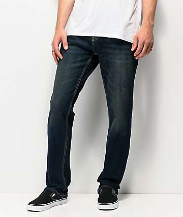 Freeworld Night Train Dirty Rinse Stretch Denim Jeans
