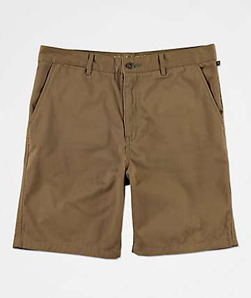 Freeworld Walker Light Khaki Chino Shorts