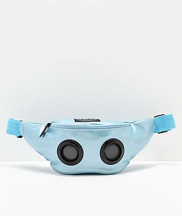 Fydelity Bluetooth Blue Fanny Pack