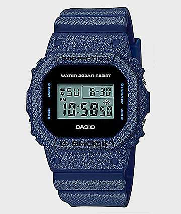 G-Shock 5600 Denim Digital Watch
