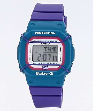 G-Shock Baby-G 25th Anniversary Blue & Purple Digital Watch