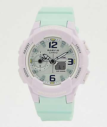 G-Shock Baby-G Mint & Lavender Digital Watch