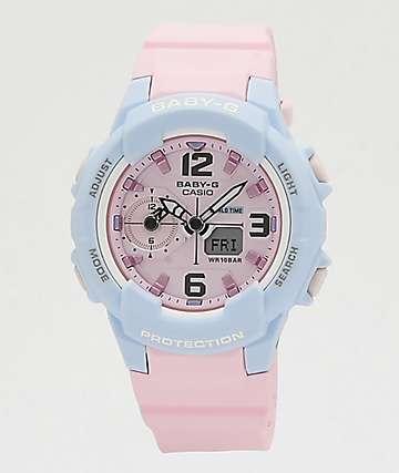 G-Shock Baby-G Pink & Blue Digital Watch