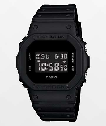 G-Shock DW5600 Black Out Digital Watch