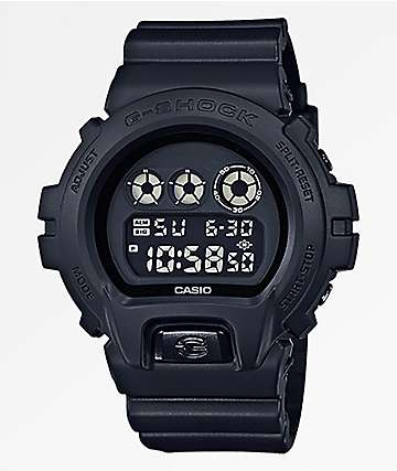 G-Shock DW6900 Black & Black Digital Watch